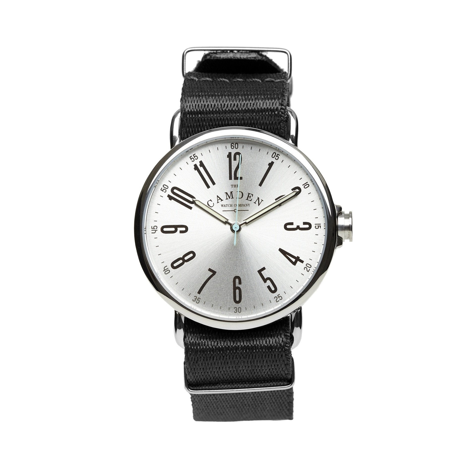 No.88 Steel Watch Black Nylon Nato