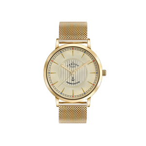 No.27 Camden x Thy Barber Gold Mesh Watch