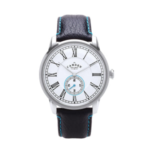 No.29 Gents Camden Watch -Steel, Black And Blue