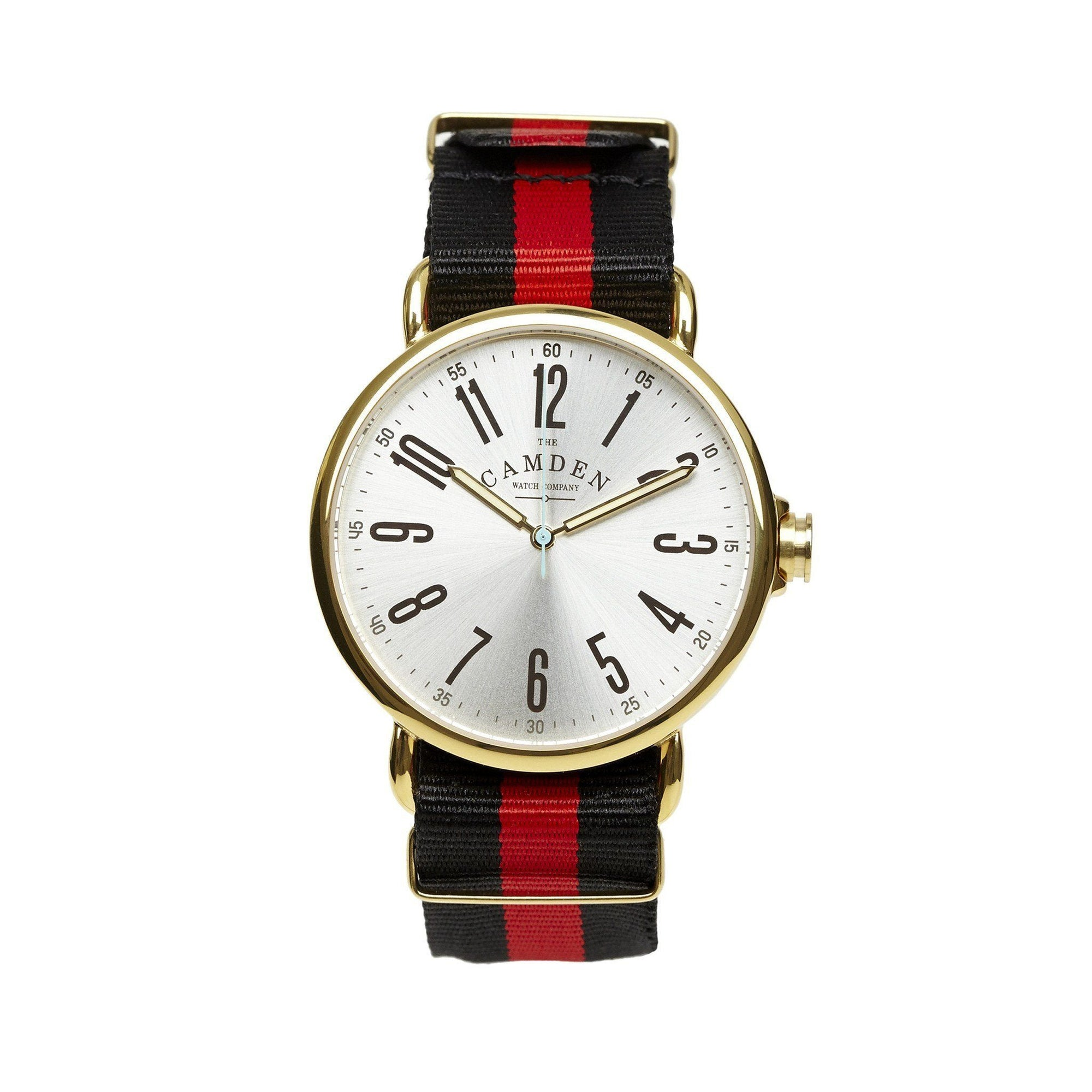 No.88 Classic Gold and Red British Watch