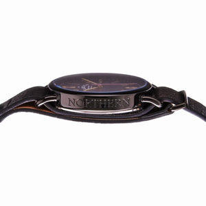 No.88 Black Case Unisex Northern Line Watch