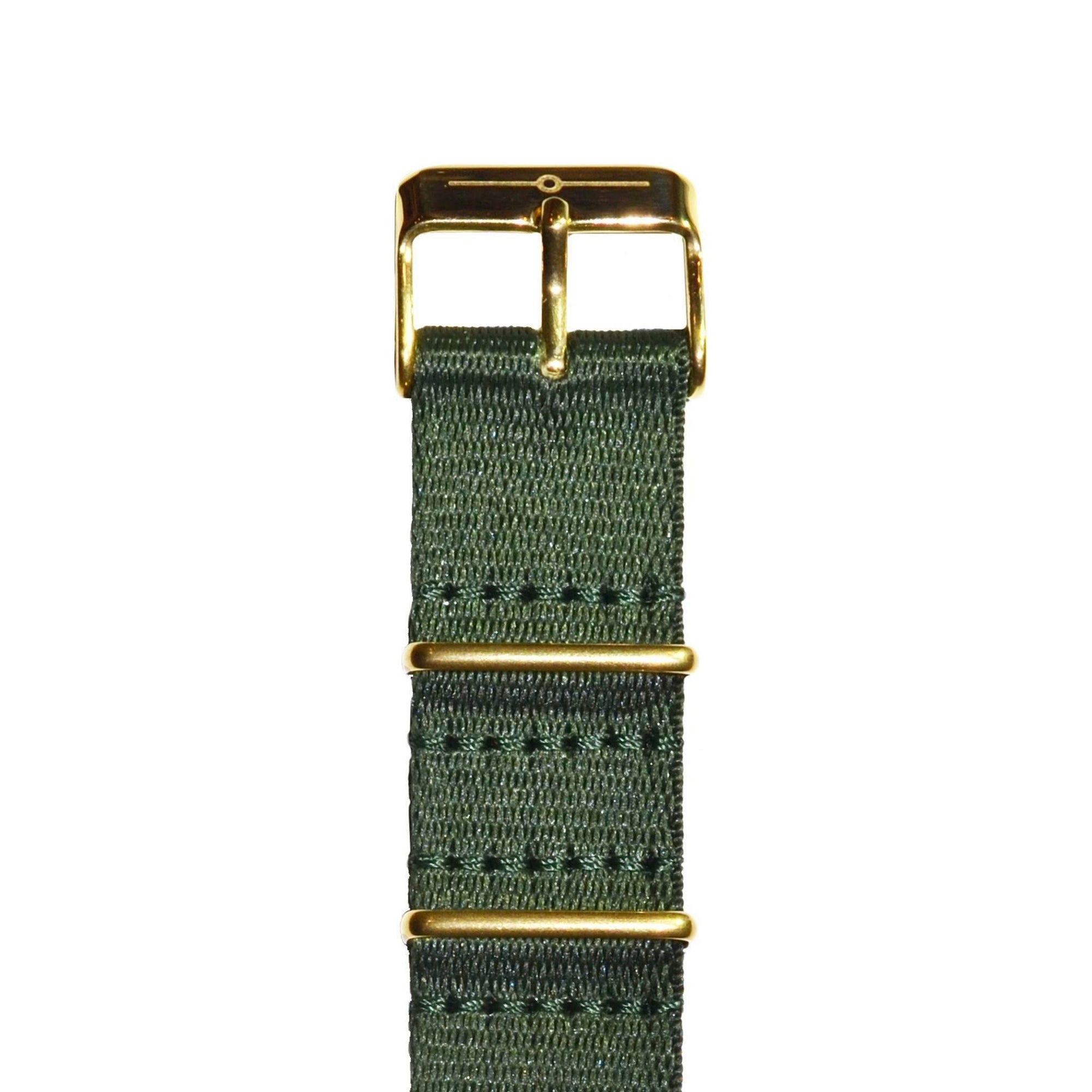 Strap - Green And Gold NATO