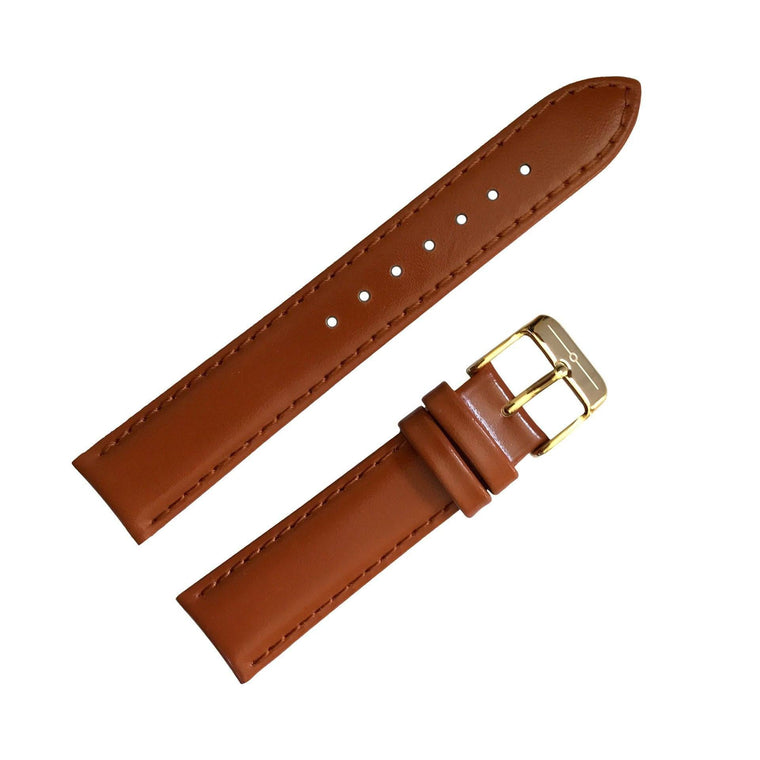 Strap - No.27 Tan And Gold