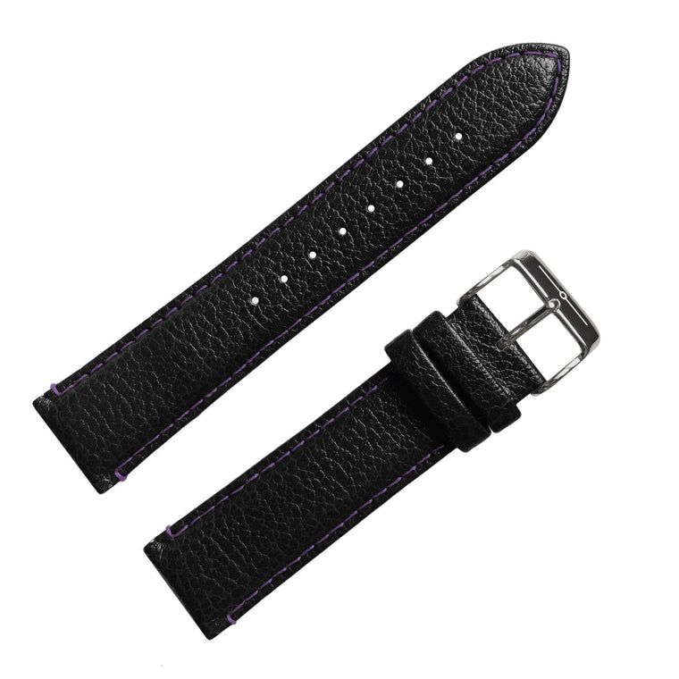 Strap - No.29 Black And Purple Strap