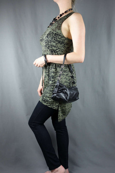 H&M Green Top Size XS + Black Jeggings