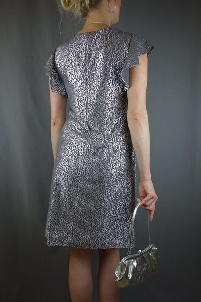 Kaliko Evening Party Silver Grey Dress Size 8 - £10.00 GBP