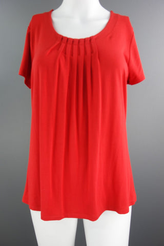 468f1f7e4094f9 M S Red Short Sleeves Top Size UK 8 (EUR ...
