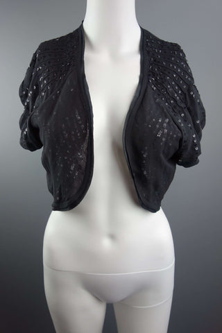 Principles Black Bolero Shrug Size UK 14 (EUR 42) - £7.50