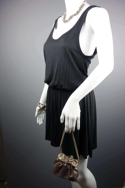 Black Strappy Playsuit by H&M Size S