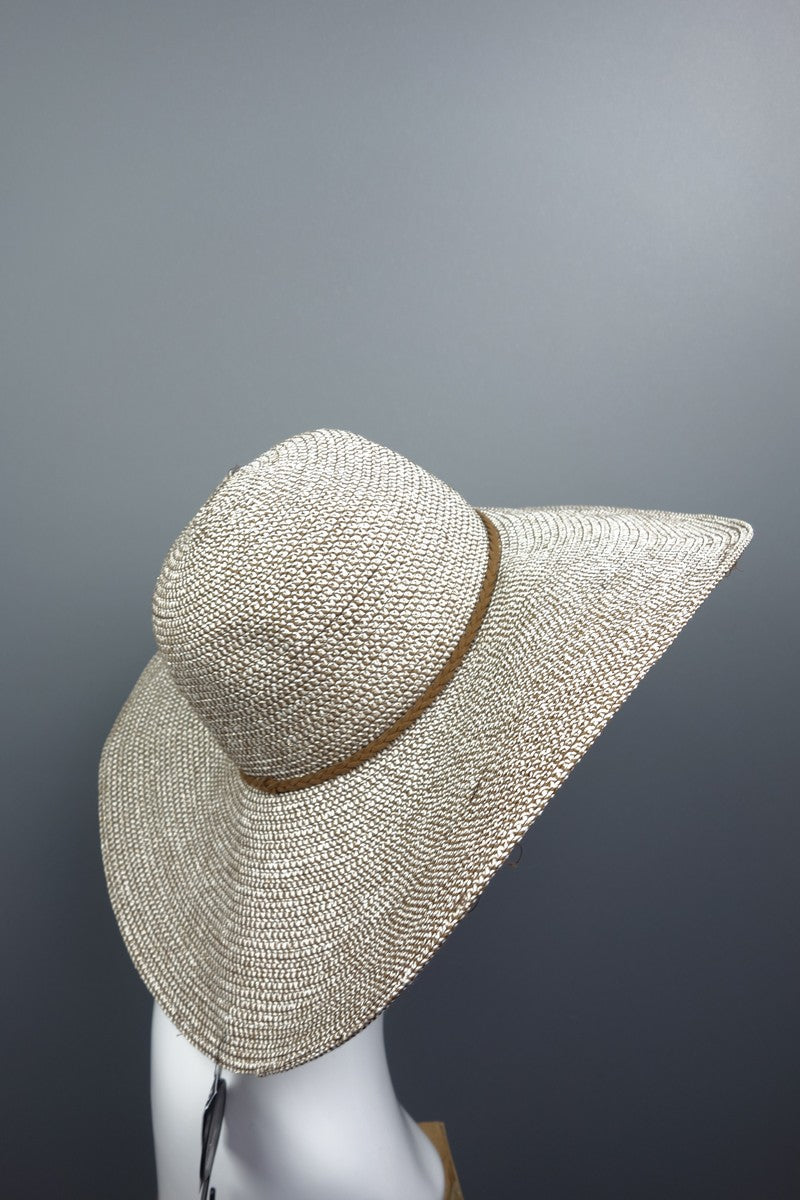 Large Oversized Summer White Beige Brown Floppy Hat - Miss Glamess 84fa474ff88