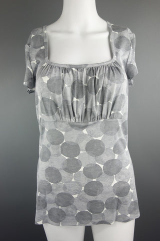 NEXT Grey Casual Top Size UK 12