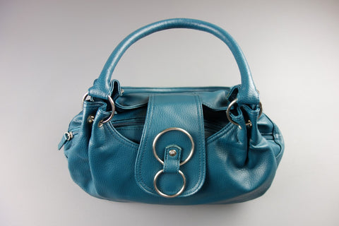 F&F Turquoise Handbag Shoulder Bag