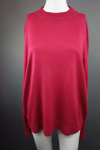 Marks & Spencer Classic Red Jumper Size UK 18 - £7.50