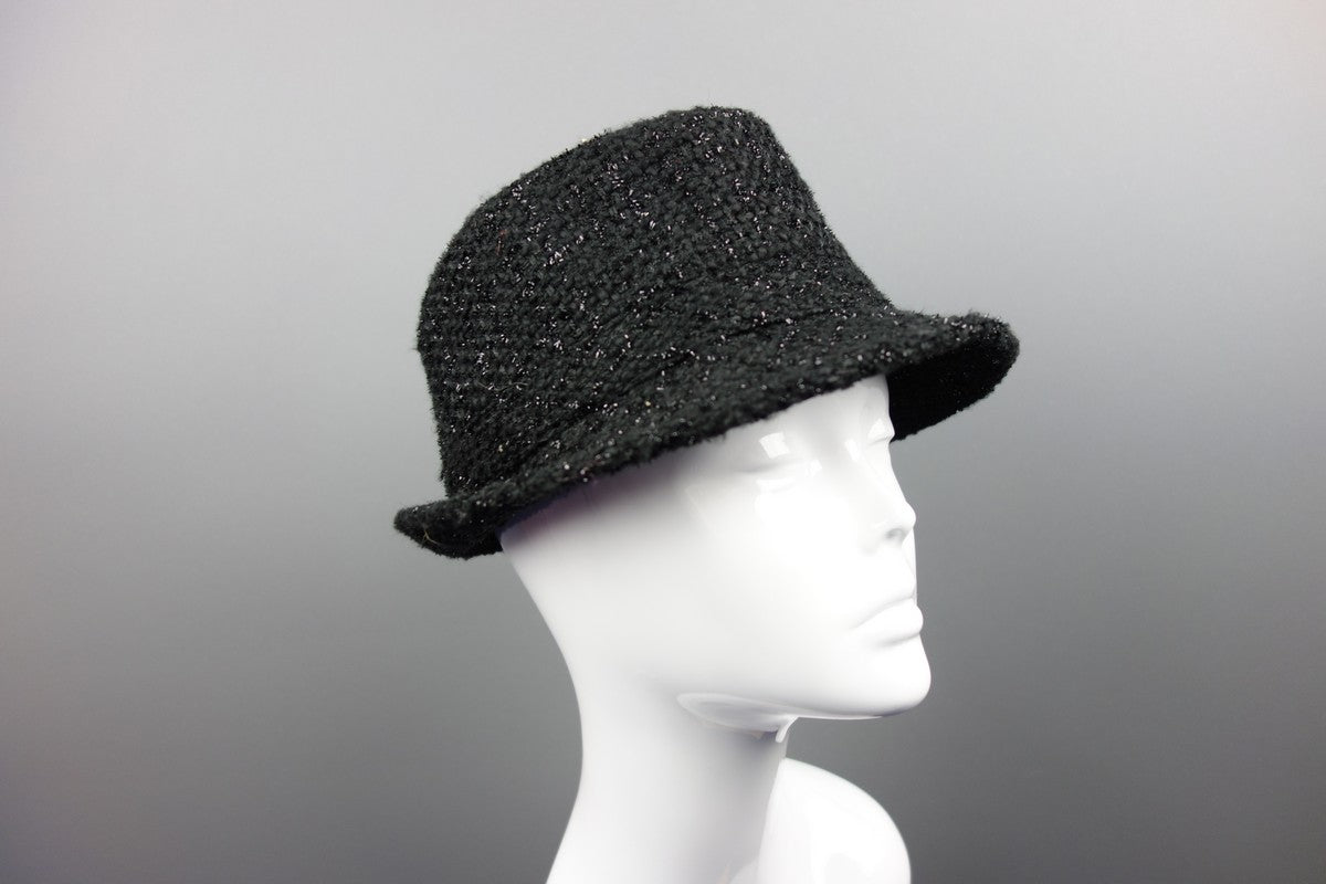 90adec87849 Fedora Style Black One Size Hat - Miss Glamess