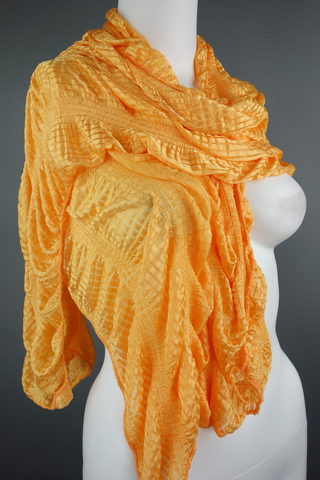 Orange Long Rectangle Scarf - £5.00