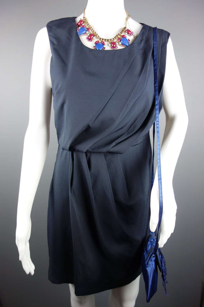 Sleeveless Navy Blue NEW Smart Dress by AX PARIS Size 12