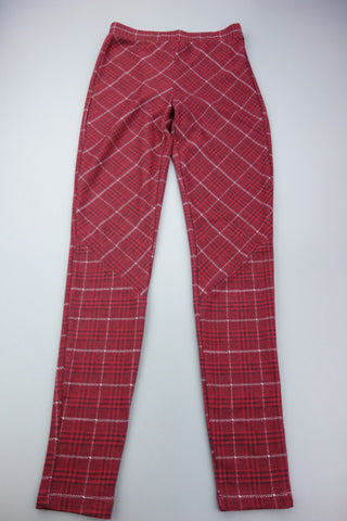 Burgundy Mix Jeggings Size UK 6 (EUR 34) by F&F - £5.00