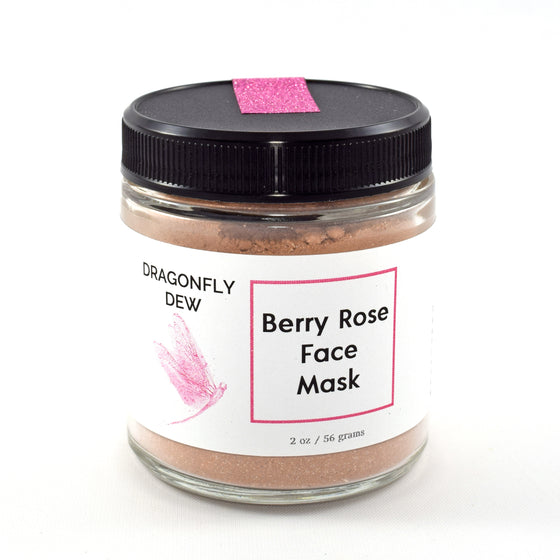 Beautiful Berry Rose Face Mask