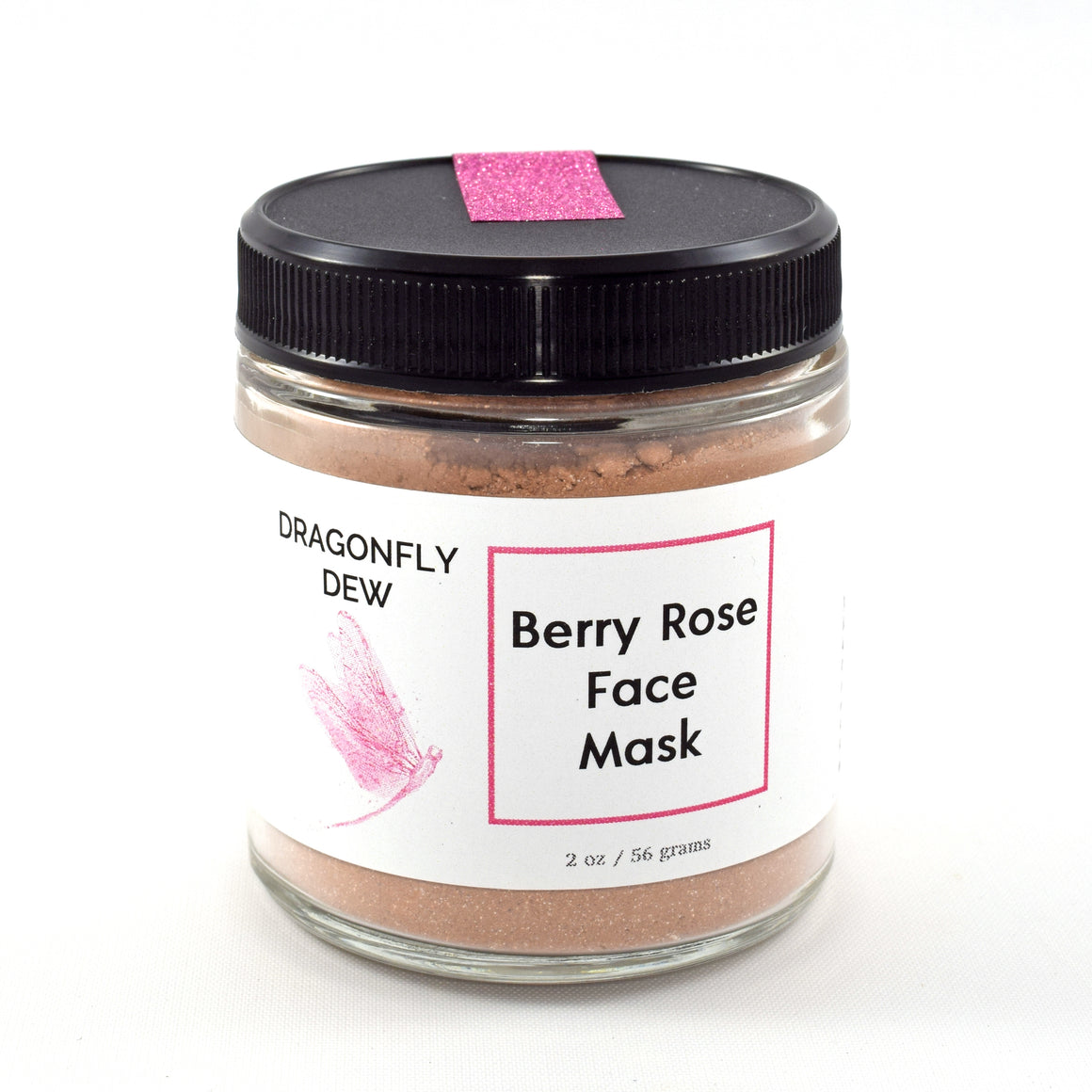 Beautiful Berry Rose Face Mask - Dragonfly Dew