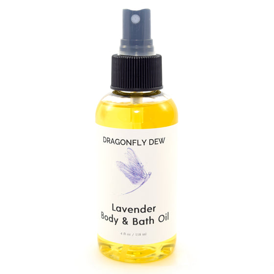Lavender Body and Bath Oil - Dragonfly Dew