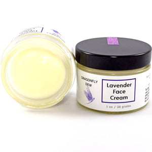 Lavender Face Cream - Dragonfly Dew