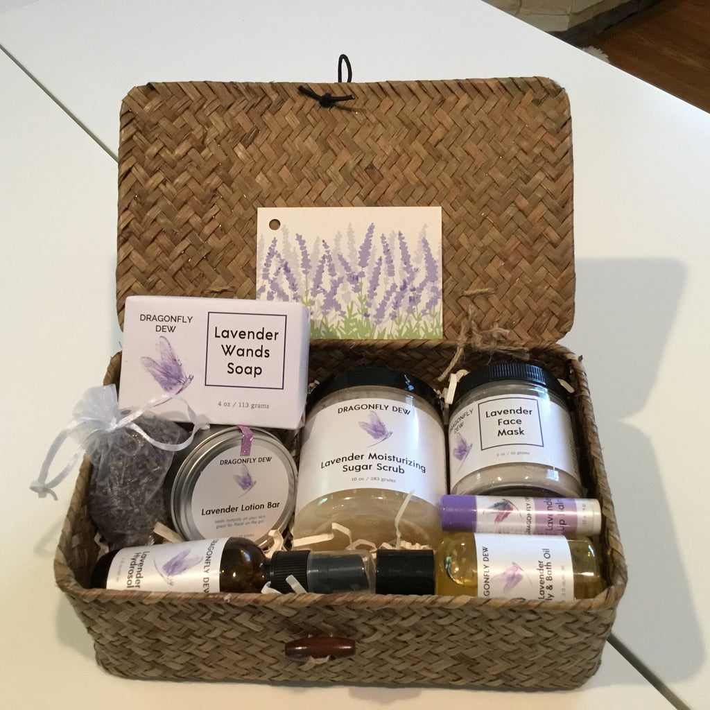 Lavender Spa in a Box - Dragonfly Dew