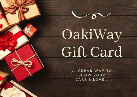 OakiWay Gift Cards
