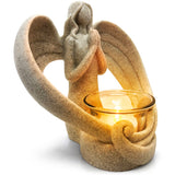 Angel Statue in Memory of Loved Ones - Tealight Candle Holder