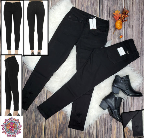 Black skinny Kan Can Jeans