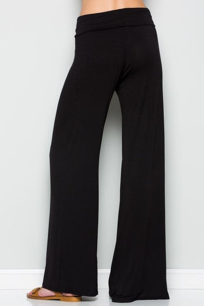 Pre-order Palazzo fold over waist pants
