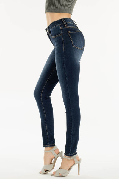 Nature dark wash jeans