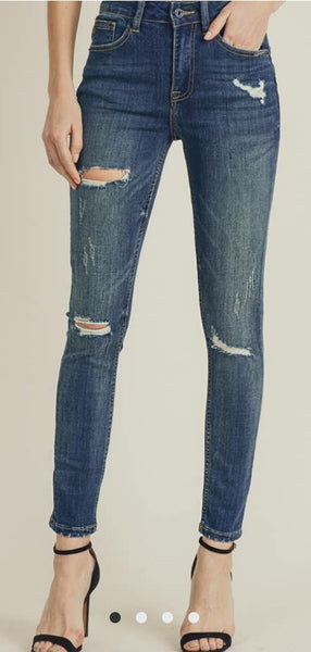 Distressed Risen jeans