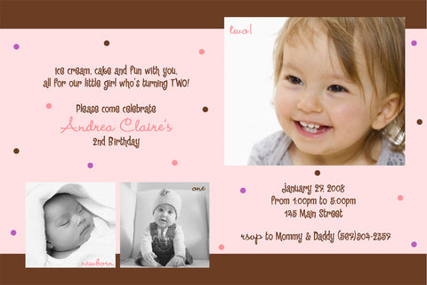 Years of Fun Collage Photo Birthday Party Invitation • Any Colors Kids Photo Birthday Invitations - Everything Nice