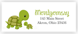 Turtle Return Address Labels • Self Adhesive Stickers