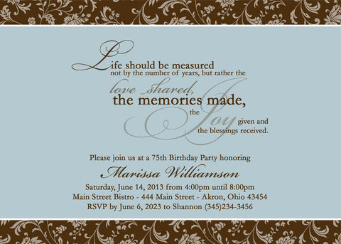 Adult birthday party invitation s any colors everything nice adult birthday party invitation s any colors adult photo birthday invitations everything nice filmwisefo Image collections