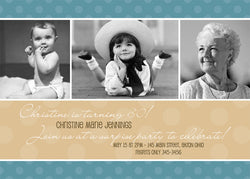 Adult Photo Birthday Party Invitation e • Any Colors Adult Photo Birthday Invitations - Everything Nice