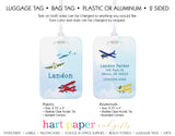 Airplane Luggage Bag Tag School & Office Supplies - Everything Nice