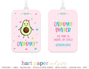 Avocado Luggage Bag Tag School & Office Supplies - Everything Nice
