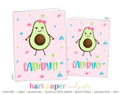 Avocado Personalized 2-Pocket Folder School & Office Supplies - Everything Nice