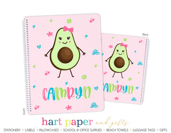 Avocado Personalized Notebook or Sketchbook School & Office Supplies - Everything Nice