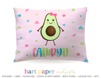 Avocado Personalized Pillowcase Pillowcases - Everything Nice