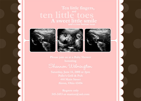 Wonder Photo Baby Shower Invitation • Any Colors Baby Shower Photo Invitations - Everything Nice