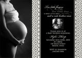 Beautiful Baby Photo Baby Shower Invitation • Any Colors Baby Shower Photo Invitations - Everything Nice