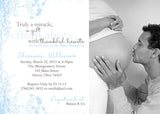 Sweet Photo Baby Shower Invitation • Any Colors Baby Shower Photo Invitations - Everything Nice