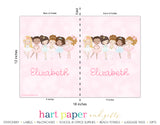 Ballerina Personalized 2-Pocket Folder School & Office Supplies - Everything Nice