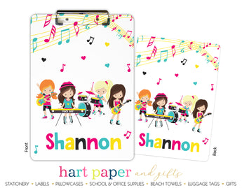 Band Music Personalized Clipboard School & Office Supplies - Everything Nice