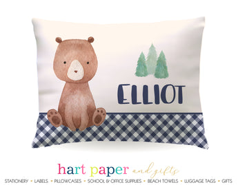 Teddy Bear Personalized Pillowcase Pillowcases - Everything Nice