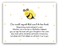 Bumble Bee III •  Book Instead of Card