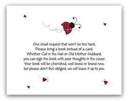 Ladybug Lady Bug •  Book Instead of Card