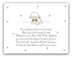 Little Lamb •  Book Instead of Card Book Instead of Card - Everything Nice